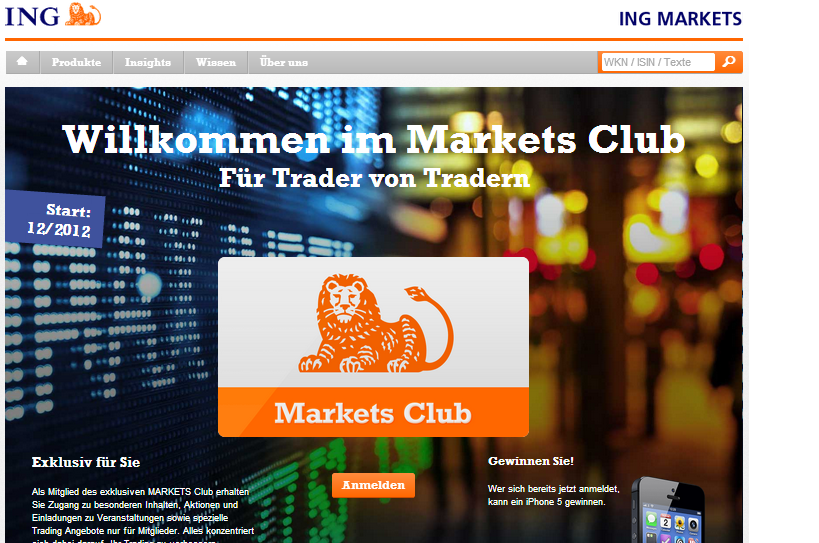 ING Markets Club